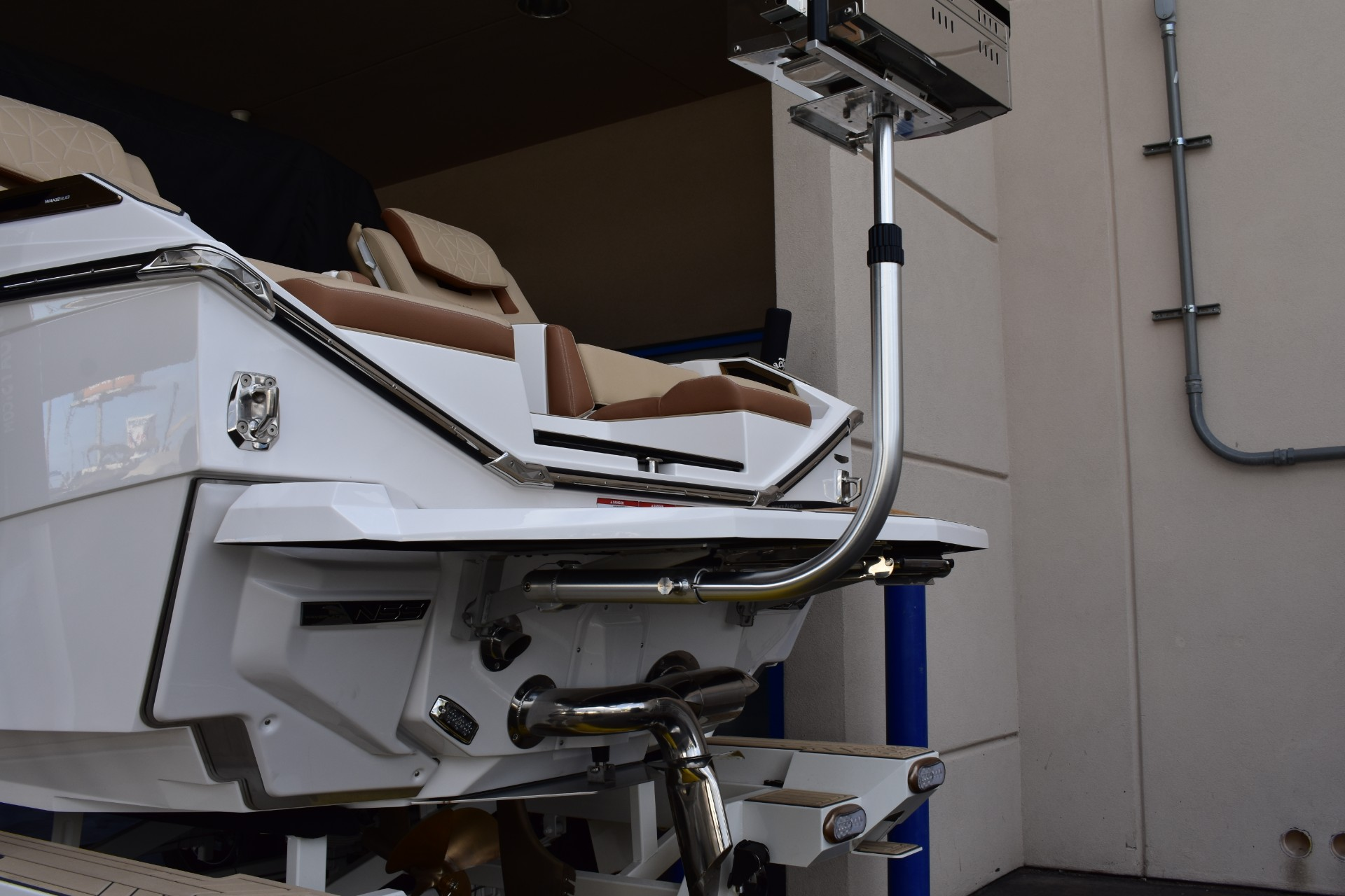 detachable grill for wakeboard boat
