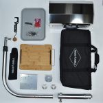 Flat Mount Kit with grill